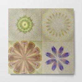 Jean'S Consonance Flowers  ID:16165-071253-84670 Metal Print