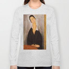 "Amedeo Modigliani ""Portrait of a Polish Woman"" Long Sleeve T-shirt"