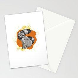 Lemur Cute Funny Animal Lemurs Stationery Cards