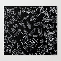 Star Wars Toys Canvas Print