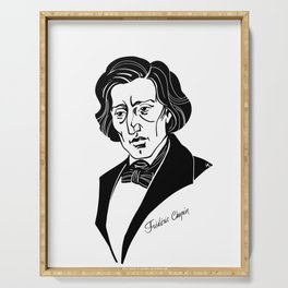 Frederic Chopin Serving Tray