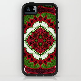 Mandala Floral Pattern Design Art Doodle iPhone Case