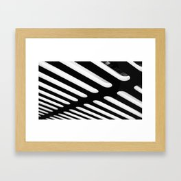 Defined Lines Framed Art Print