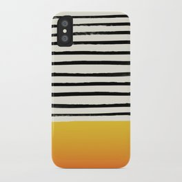 Sunset x Stripes iPhone Case