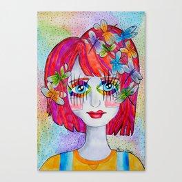 Miss Elm Canvas Print