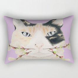 Calico Cat-ti-tude Rectangular Pillow