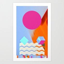 Shaped, #3 Art Print