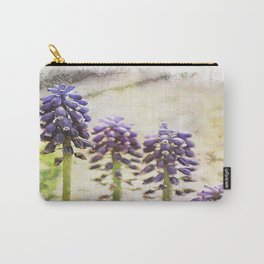 Spring Muscari Carry-All Pouch