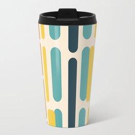 Oblong Teal Travel Mug