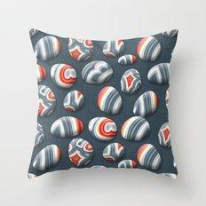 Agate Pebble Throw Pillow