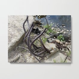 Limbs in Color-1 Metal Print