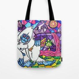 Yeti Love Pink Lemonade Tote Bag