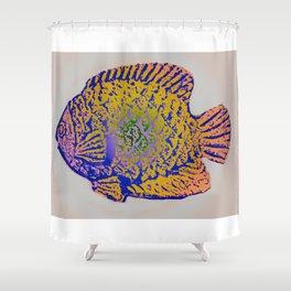 Sunfish Colors 2 Shower Curtain