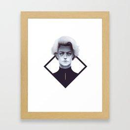 Gold and Gloom Framed Art Print