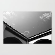 The V Canvas Print