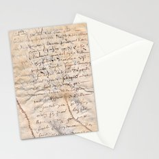 French Parchment Stationery Cards