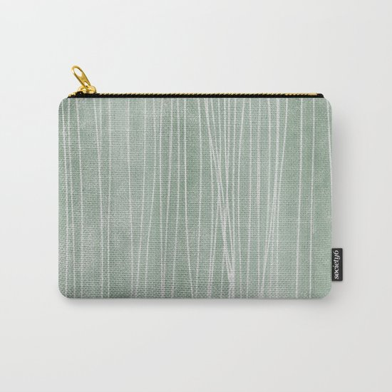 pin stripe soothe Carry-All Pouch
