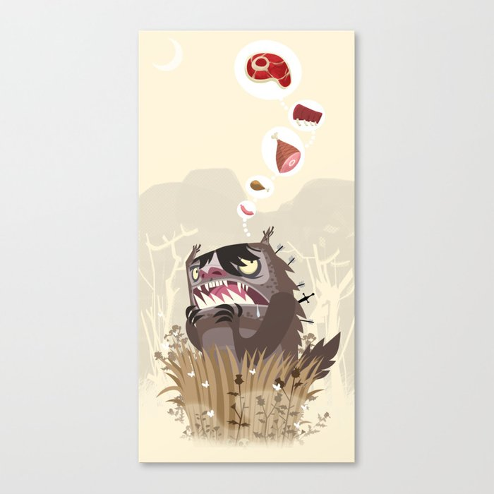 The Meat Freak Canvas Print