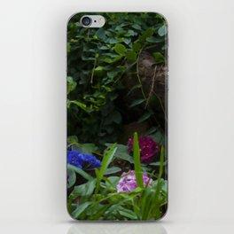 Floral Print 073 iPhone Skin