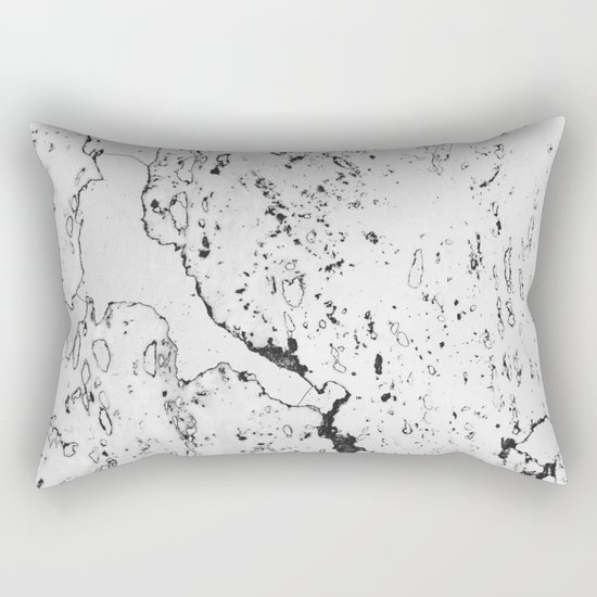 Speckled Marble Rectangular Pillow