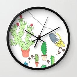 garden snacker III Wall Clock