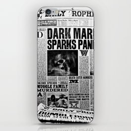 Daily Prophet newspaper iPhone Skin