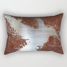 Hummingsplat - Rusty Rectangular Pillow