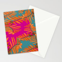 Leaves In Autumn Colors #decor #society6 #buyart Stationery Cards