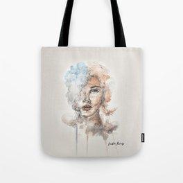 Watercolor Portrait Tote Bag