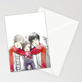 Jem, Tessa and Will Stationery Cards