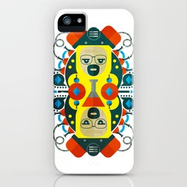 Heisenberg fan art iPhone Case