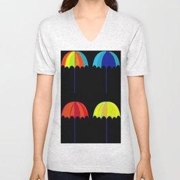 Umbrella Ella Ella Ella Unisex V-Neck