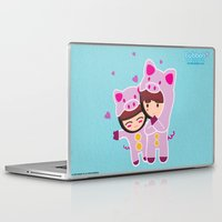 suits Laptop & iPad Skins featuring Piggy-Suits by I love Bubbah