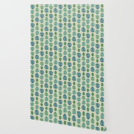 Monstera color scale Wallpaper