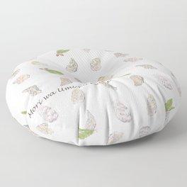 Miharu Shirahata | Oyster and Acorn Floor Pillow
