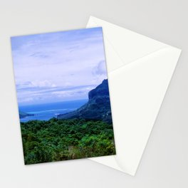 Romantic Tropical Cook's Bay On Moorea, French Polynesia Stationery Cards