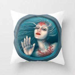 Mermaid Throw Pillow