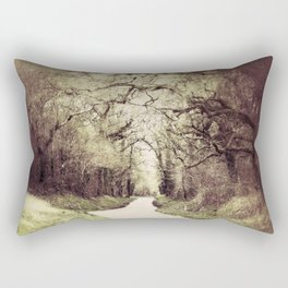 Tunnel of Light Rectangular Pillow