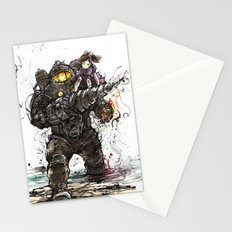 Bioshock Subject Delta and Little Sister Stationery Cards