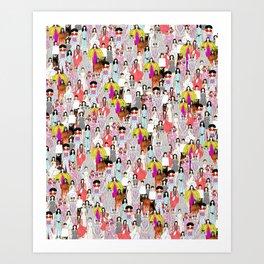 Bjork-A-thon Art Print