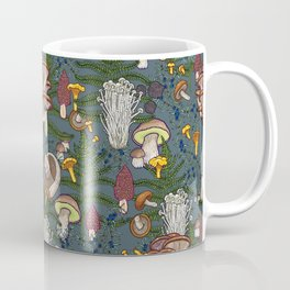 mushroom forest Kaffeebecher