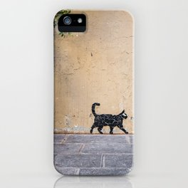 Keep walkin' iPhone Case