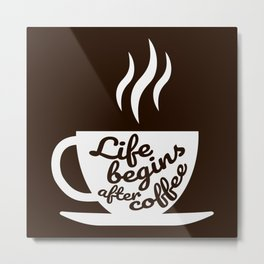 The Coffee Lover II Metal Print
