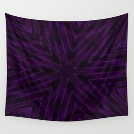 Eggplant Purple Wall Tapestry