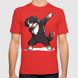 Funny Bernese Mountain Dog Dabbing T-shirt