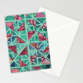 Geometric Shapes: Triangles 02 Stationery Cards