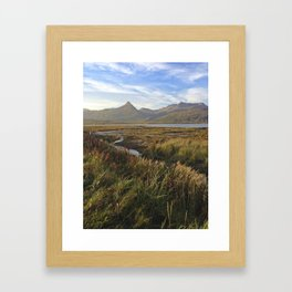 Kodiak Fall Framed Art Print
