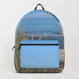 Relaxing at the beach Backpack