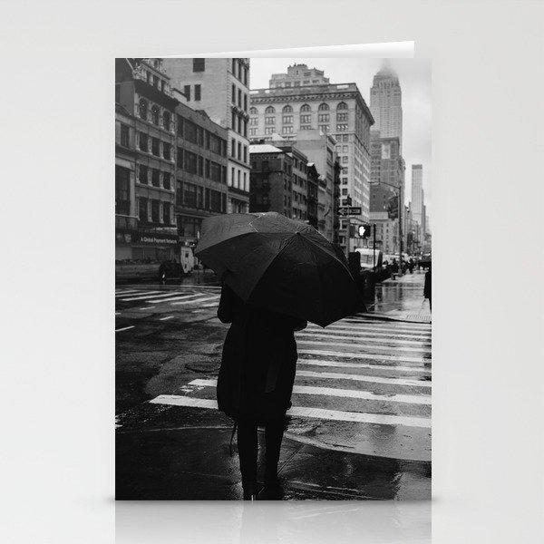 Rainy New York IX Stationery Cards