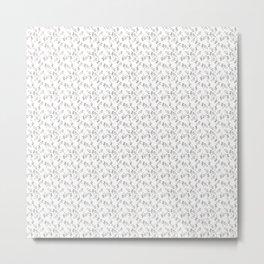 Hammerhead Shark Pattern Metal Print